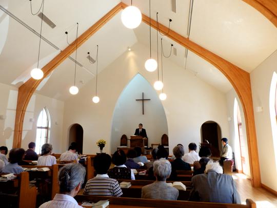 掛川教会の初礼拝_d0067498_23303961.jpg
