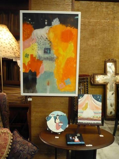 「わたしのアンデルセン」展:展示風景2_c0203401_2331793.jpg