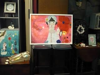 「わたしのアンデルセン」展:展示風景2_c0203401_2333015.jpg