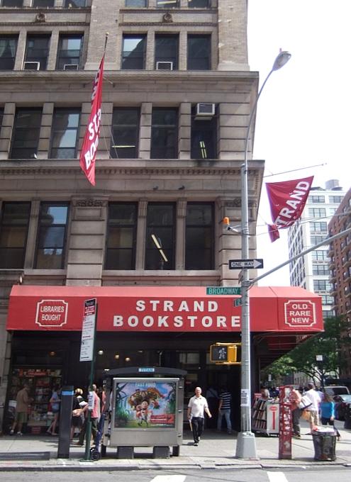 NYを代表する老舗の本屋さん、ストランド・ブック・ストア(Strand Book Store)_b0007805_224218100.jpg