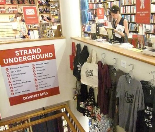 NYを代表する老舗の本屋さん、ストランド・ブック・ストア(Strand Book Store)_b0007805_22443042.jpg