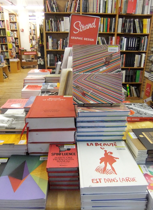NYを代表する老舗の本屋さん、ストランド・ブック・ストア(Strand Book Store)_b0007805_22463279.jpg