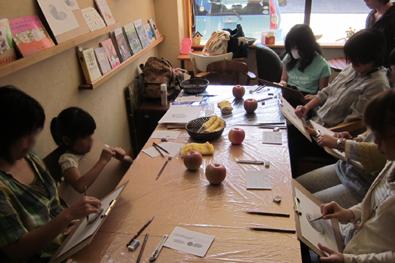 【活動レポート】 2013年9月28日 ミニミニ鉛筆デッサン_f0224207_22473360.jpg
