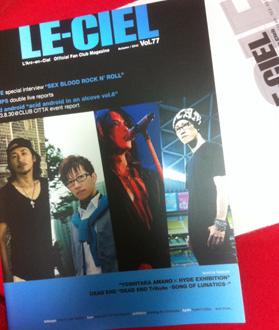LE-CIEL(ラルク会報)が到着_c0036138_2020502.jpg