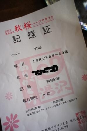 2013 越後湯沢秋桜マラソン_f0196455_13562910.jpg