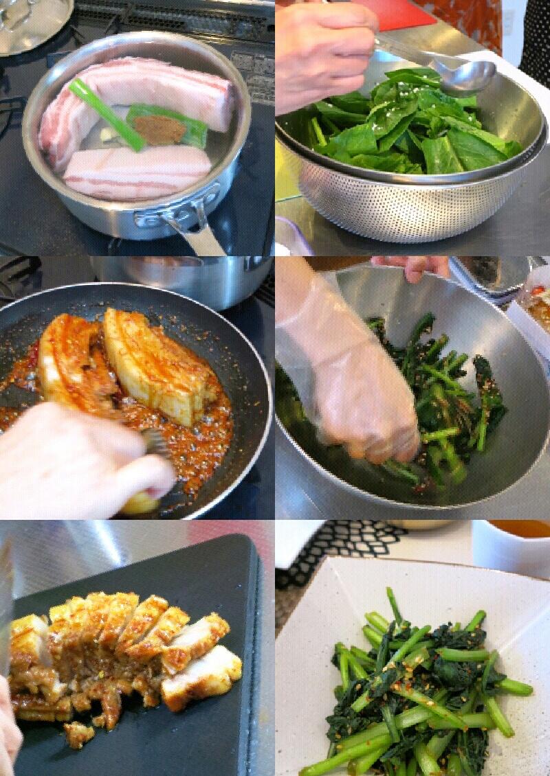 ナカ先生の「我が家の韓国料理教室」・9月_f0236260_2363546.jpg