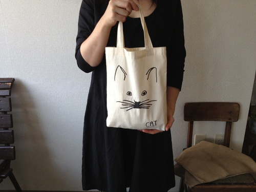 やまさき 薫 さんの、 「シルクスクリーン版画の 手さげ袋」_b0284270_10215650.jpg
