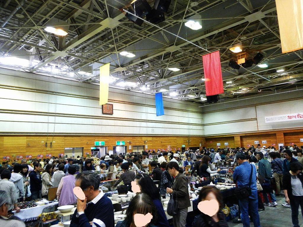 2013旭川陶芸フェスティバル終了。_a0107184_11182040.jpg