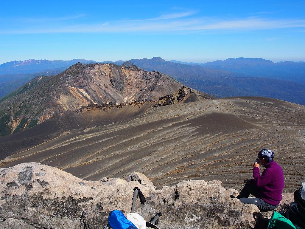 9月28日、新得コースから十勝岳-下山編-_f0138096_17383943.jpg