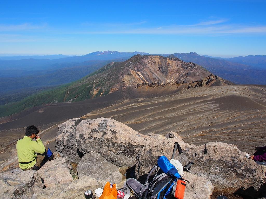 9月28日、新得コースから十勝岳-下山編-_f0138096_17384860.jpg