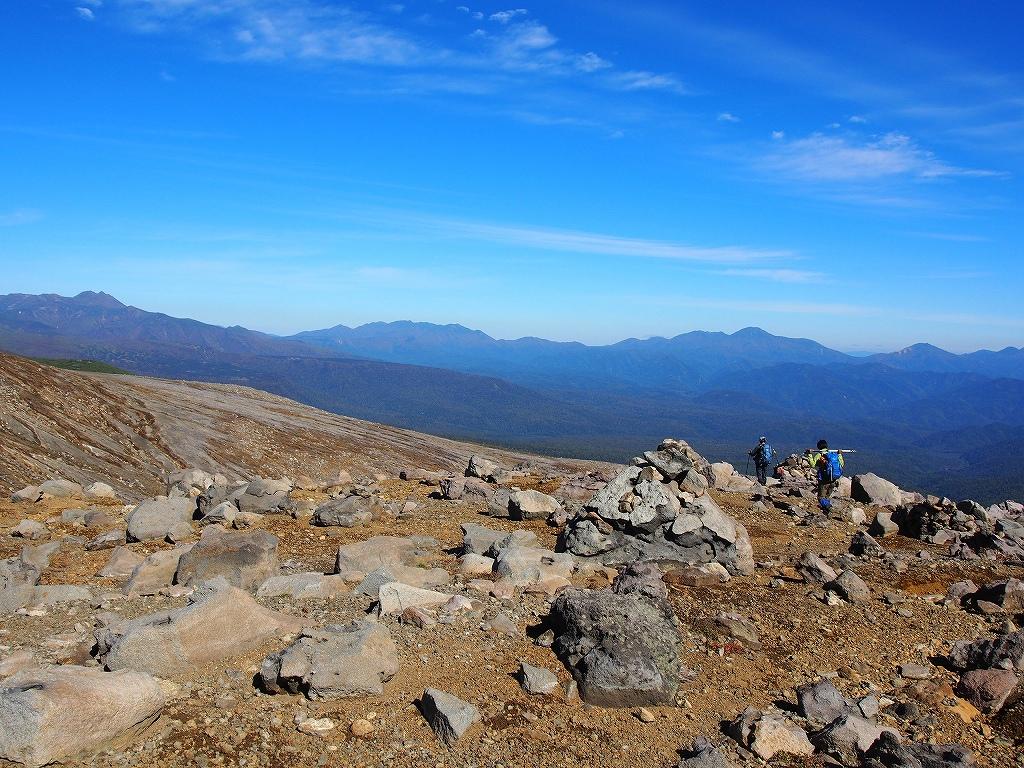 9月28日、新得コースから十勝岳-下山編-_f0138096_1739255.jpg