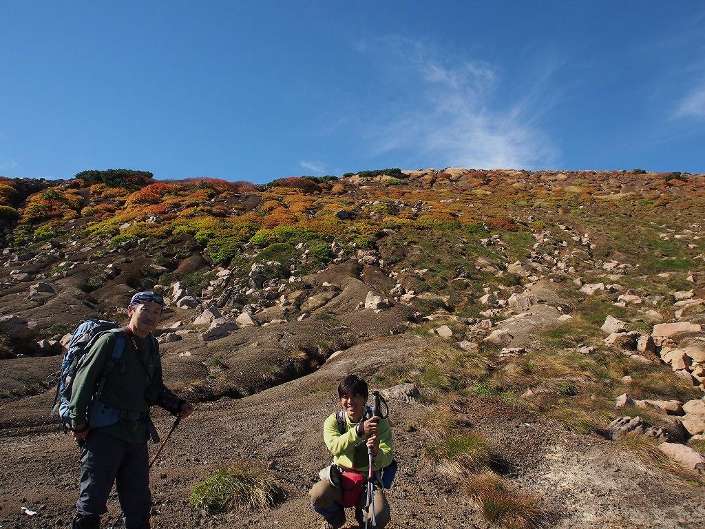 9月28日、新得コースから十勝岳-下山編-_f0138096_17395369.jpg