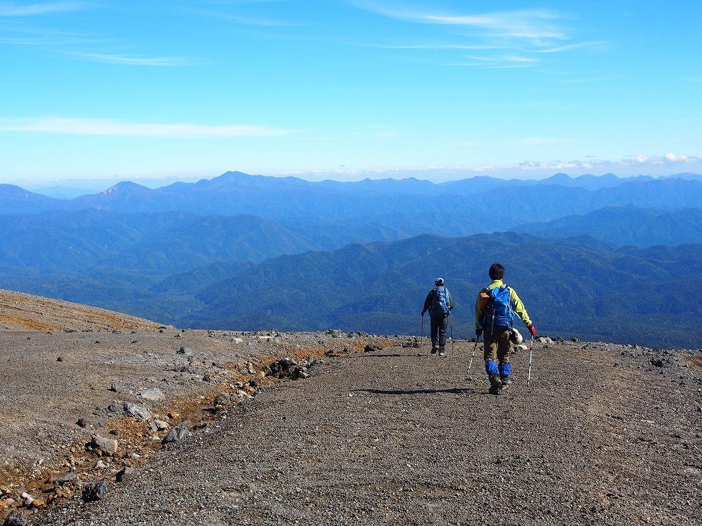 9月28日、新得コースから十勝岳-下山編-_f0138096_1739656.jpg