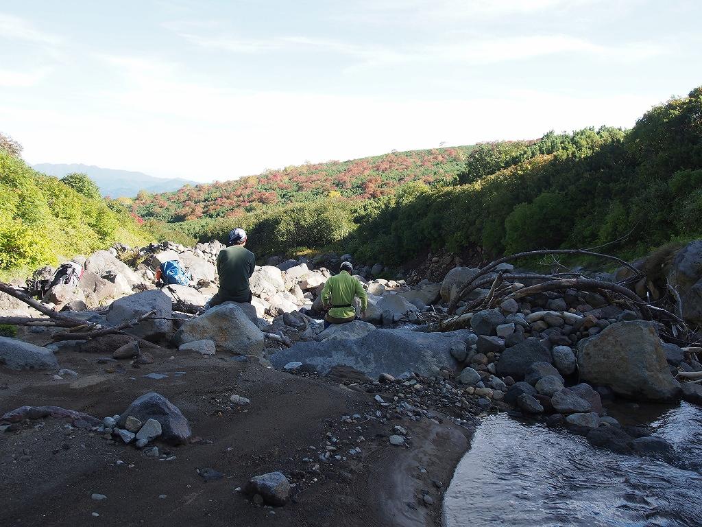 9月28日、新得コースから十勝岳-下山編-_f0138096_17403310.jpg