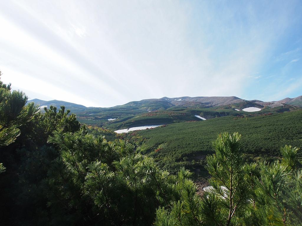 9月28日、新得コースから十勝岳-下山編-_f0138096_17405420.jpg