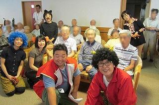 桃太郎の演劇<アクティブライフ山芦屋・デイサービス>_c0107602_1124272.jpg