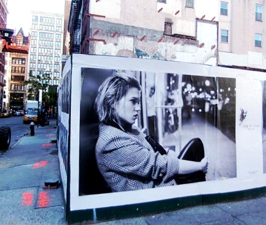 街角で見かけた妙に印象的なポスター Are You You, You Are You _b0007805_12345916.jpg