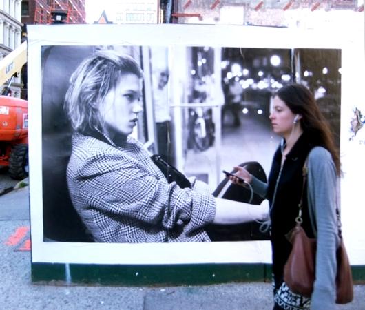 街角で見かけた妙に印象的なポスター Are You You, You Are You _b0007805_1235461.jpg