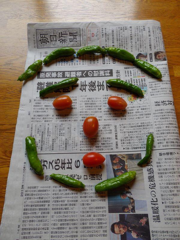 庭の収穫もだんだんと少なくなり_c0025115_19483131.jpg