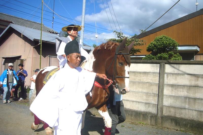 吉保八幡神社の流鏑馬(9月29日)_f0141559_6422336.jpg
