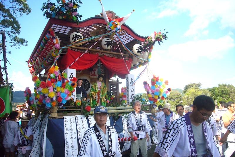 吉保八幡神社の流鏑馬(9月29日)_f0141559_6423289.jpg