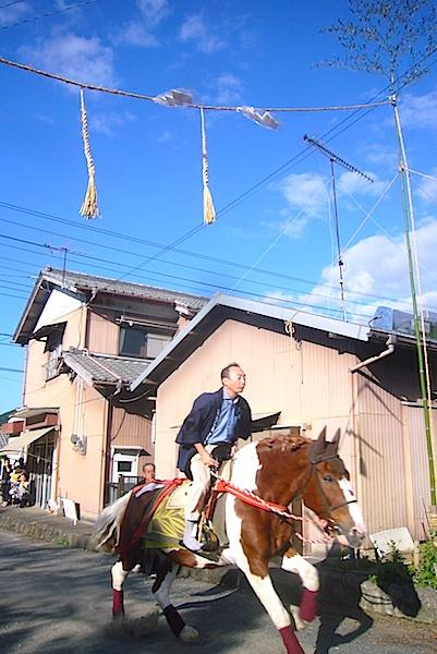 吉保八幡神社の流鏑馬(9月29日)_f0141559_6425018.jpg