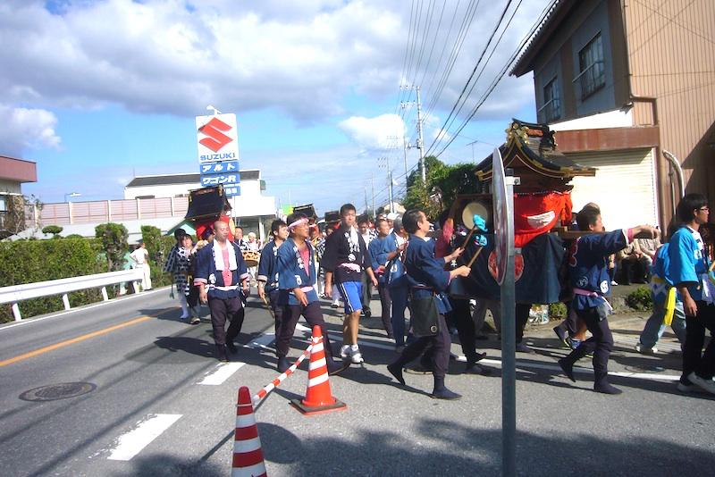吉保八幡神社の流鏑馬(9月29日)_f0141559_6429100.jpg