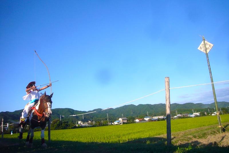 吉保八幡神社の流鏑馬(9月29日)_f0141559_6431211.jpg