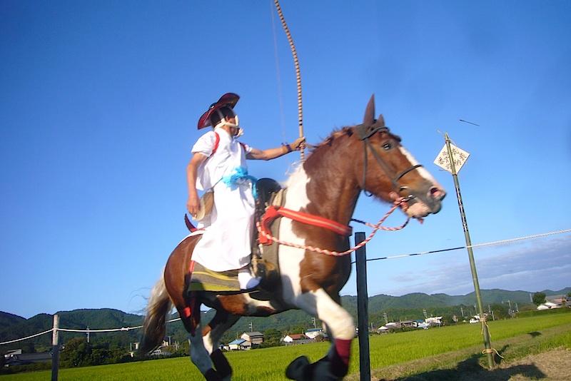 吉保八幡神社の流鏑馬(9月29日)_f0141559_6472170.jpg