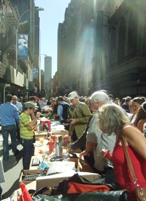 ブロードウェイ・フリーマーケット Broadway Flea Market 2013_b0007805_2184674.jpg