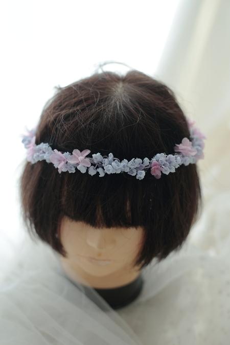 スズランの花冠 ライラックカラーで ホテルニューオータニ様へ_a0042928_13185537.jpg
