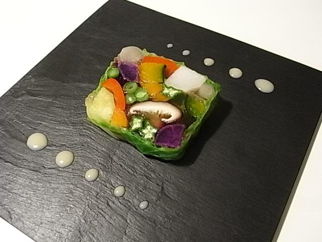 秋野菜のテリーヌ_b0145846_12449100.jpg
