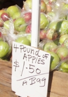 NYならではのユニークな新聞の全面広告、12種類のりんごのショッピング・ガイド?!_b0007805_5432975.jpg