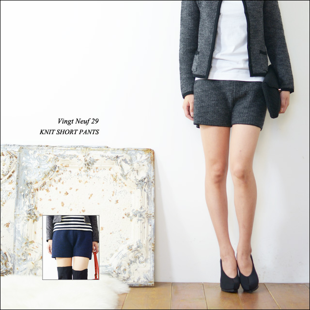 Vingt Neuf 29 [ヴァンヌフ] KNIT SHORT PANTS [VN-PT04-3A] _f0051306_17511342.jpg