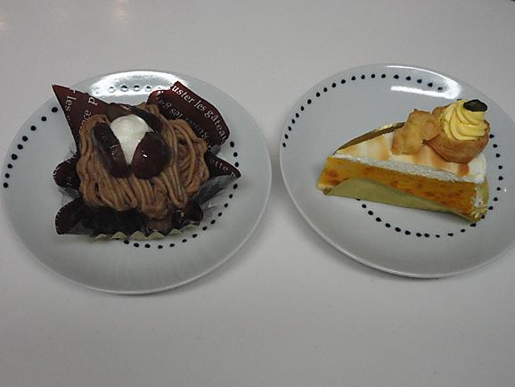 コージーコーナーで秋のケーキ_e0230011_1754376.jpg