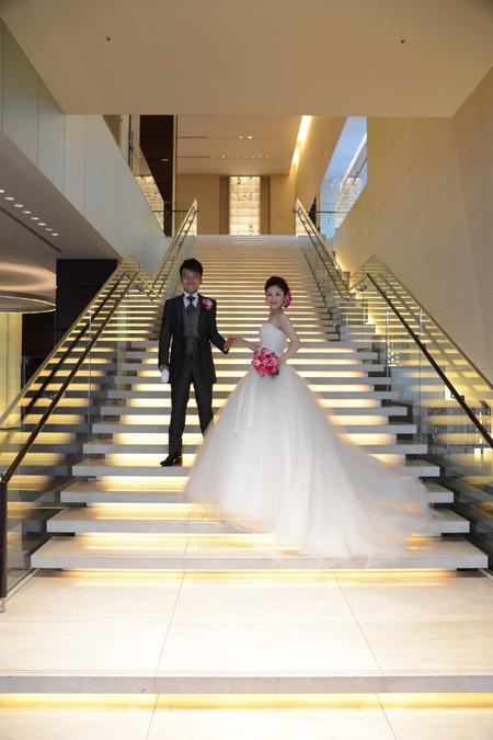 新郎新婦様からのメール 華やかなルージュのブーケ コンラッド東京様へ_a0042928_1541827.jpg