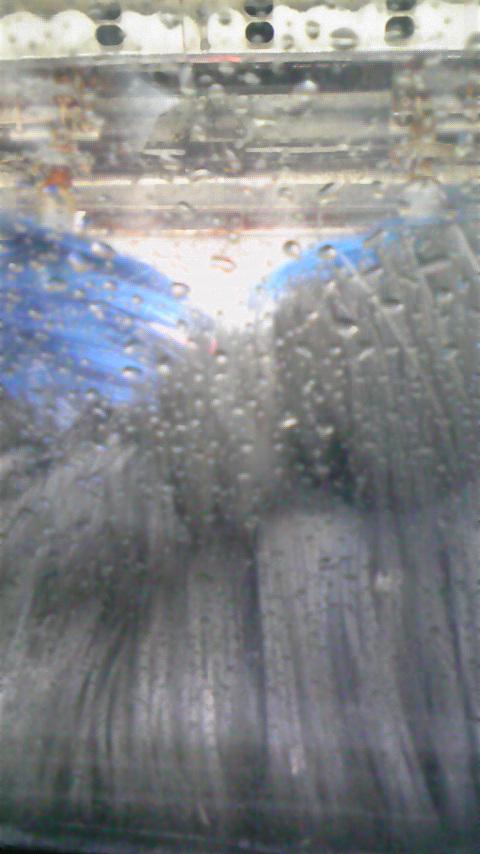 初体験…洗車機_d0322040_19314381.jpg