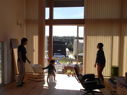 『公園の見える家』 完成引渡し_e0197748_1371962.jpg
