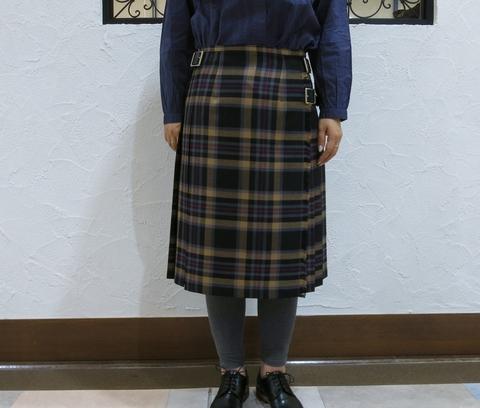 2013年秋冬オニールオブダブリン キルトスカートです。_c0227633_14343849.jpg