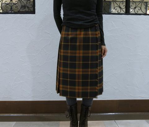 2013年秋冬オニールオブダブリン キルトスカートです。_c0227633_14375222.jpg