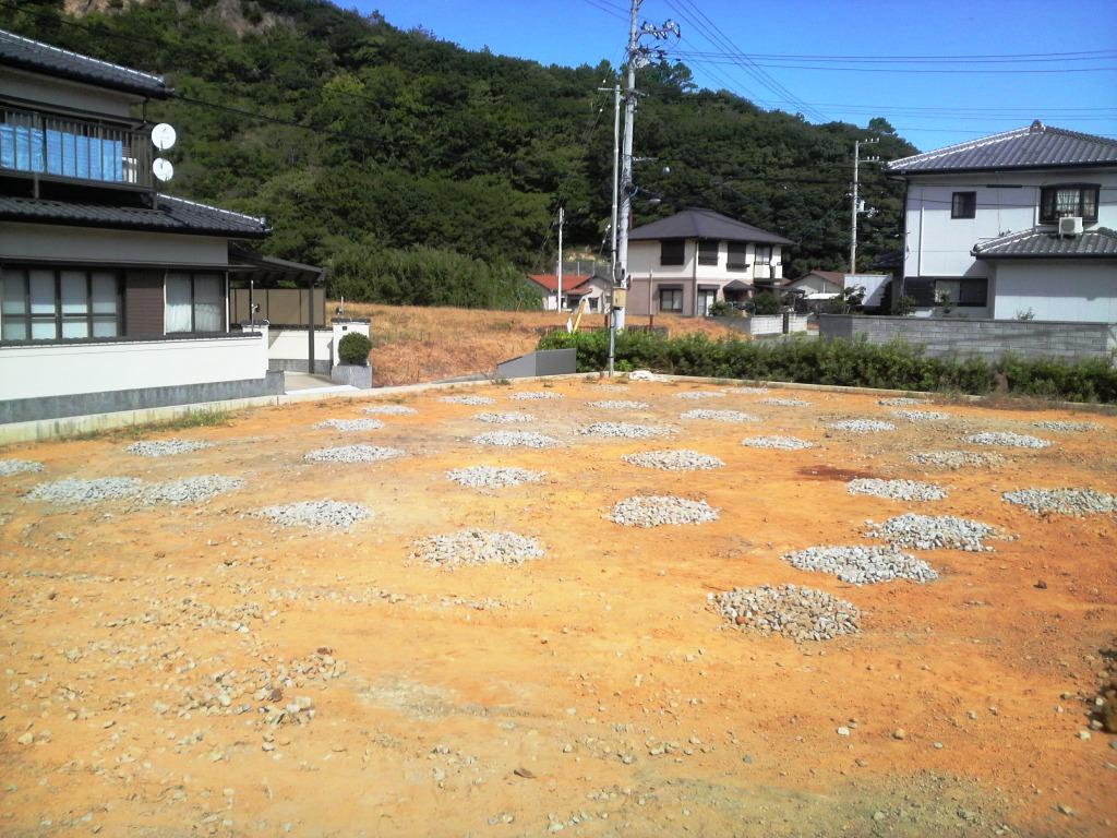 地盤改良工事完了 A邸_c0209036_20243151.jpg