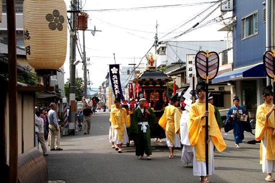 北野天満宮 ずいき祭(2)_e0048413_1648213.jpg