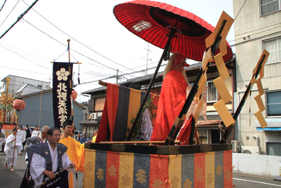 北野天満宮 ずいき祭(2)_e0048413_1648946.jpg
