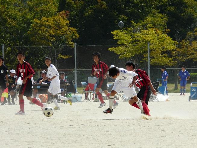 中学サッカー新人大会東濃地区予選_d0010630_2295271.jpg