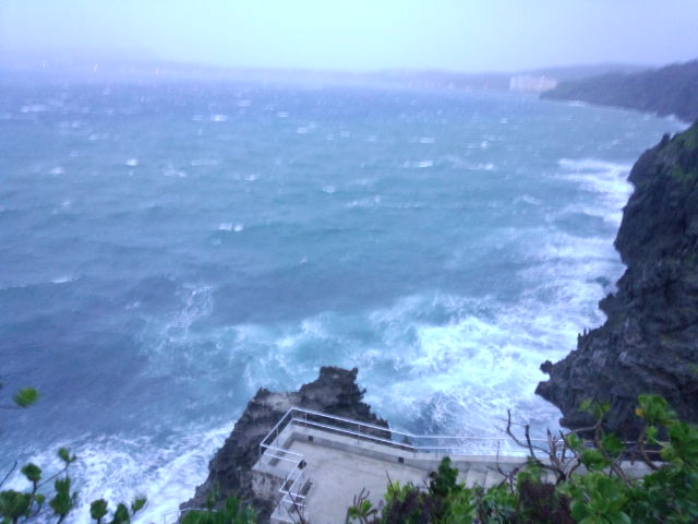 10月5日今年初沖縄本島台風直撃か?!_c0070933_20115081.jpg