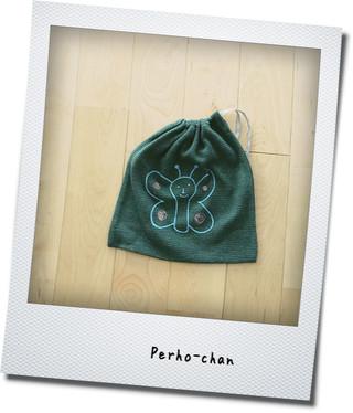 Perho-chan柄の巾着袋_e0214646_22531186.jpg