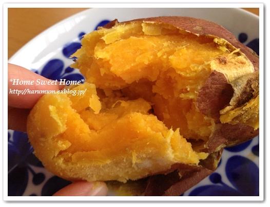 焼き芋とムーミンカレンダー_d0291758_221831.jpg