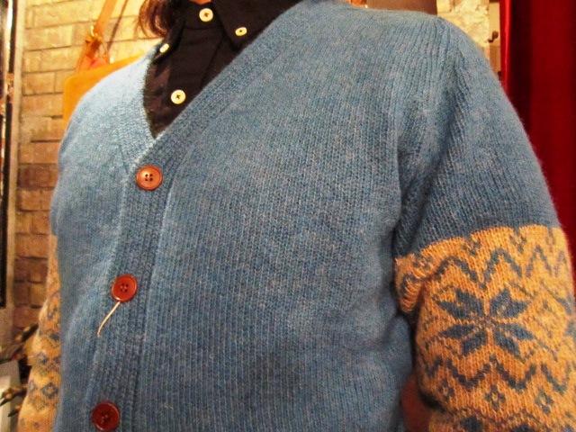 "ANACHRONORM \""Shetland Cardigan & Quilting Cardigan\"" ご紹介_f0191324_9242674.jpg"