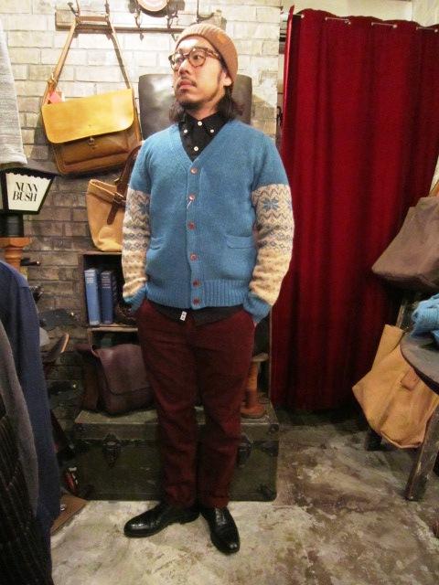 "ANACHRONORM \""Shetland Cardigan & Quilting Cardigan\"" ご紹介_f0191324_9242999.jpg"