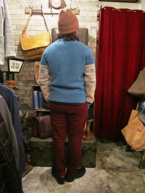 "ANACHRONORM \""Shetland Cardigan & Quilting Cardigan\"" ご紹介_f0191324_9243849.jpg"